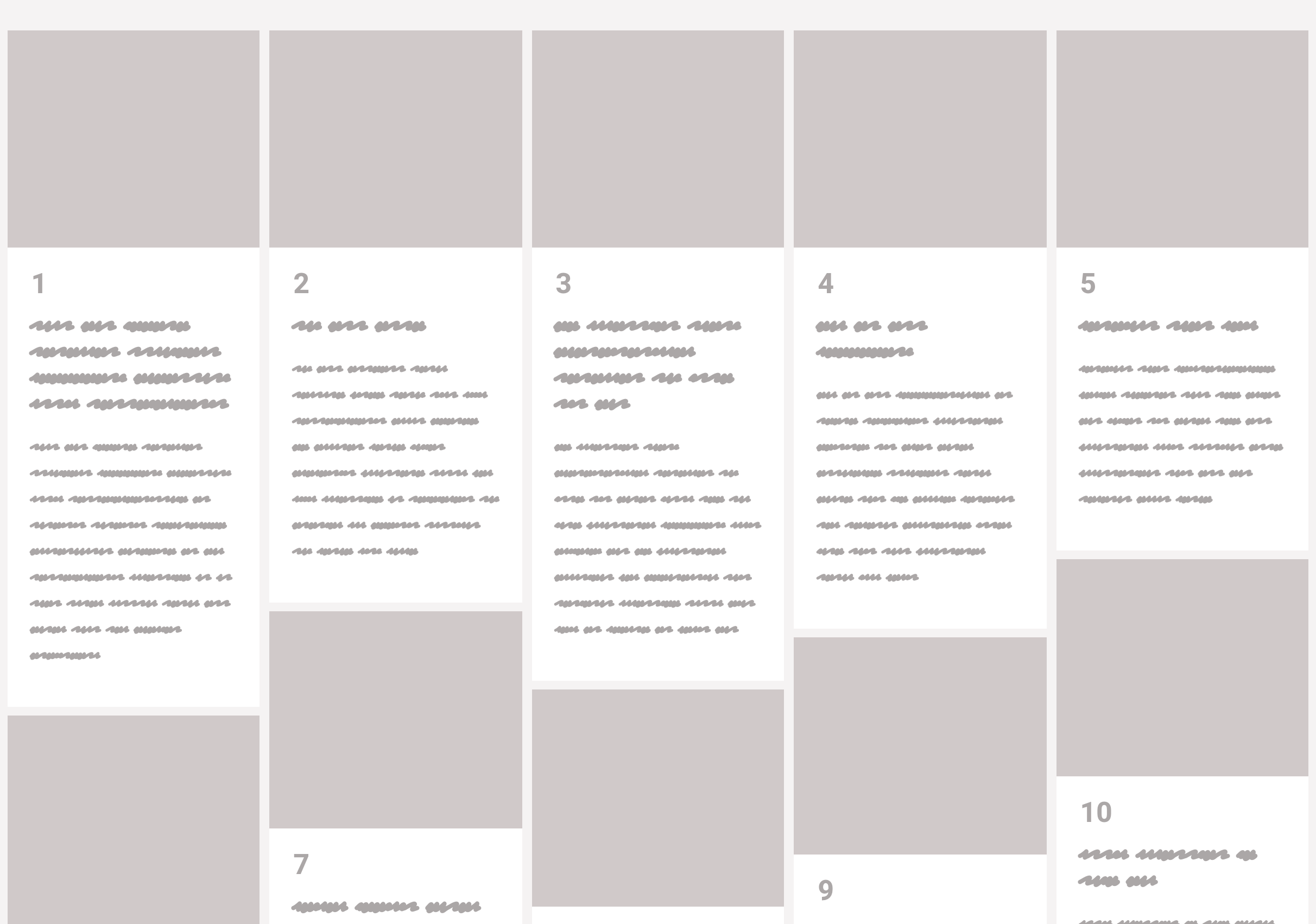 column-masonry Piecing Together Approaches for a CSS Masonry Layout design tips