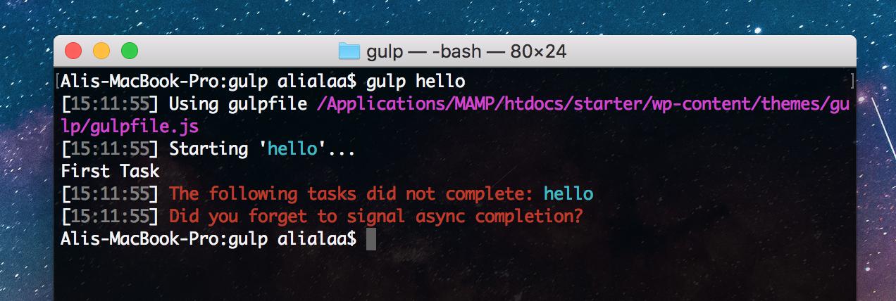 gulp-wp-03 Gulp for WordPress: Initial Setup design tips