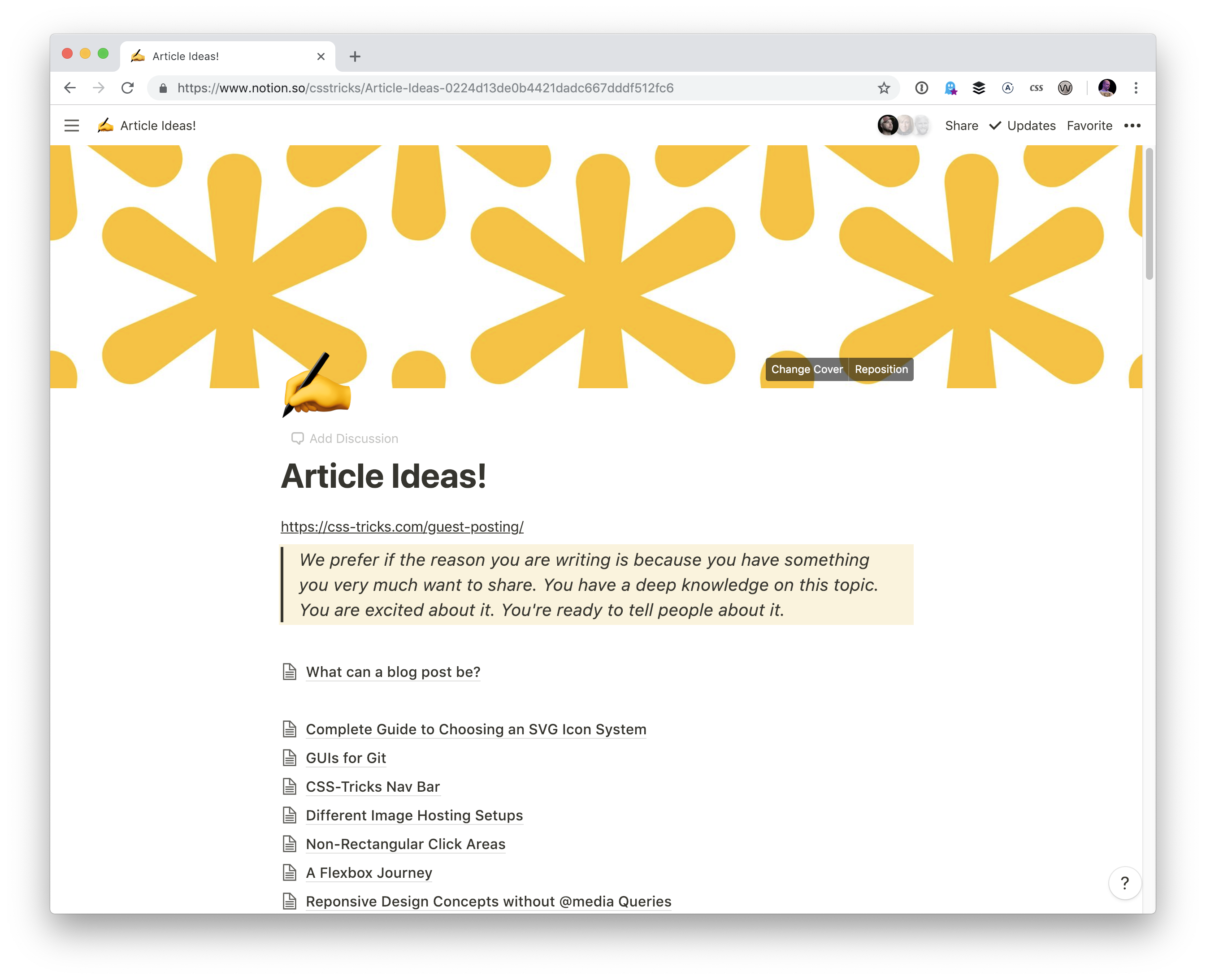 article-ideas How I've Been Using Notion Personally and Professionally design tips