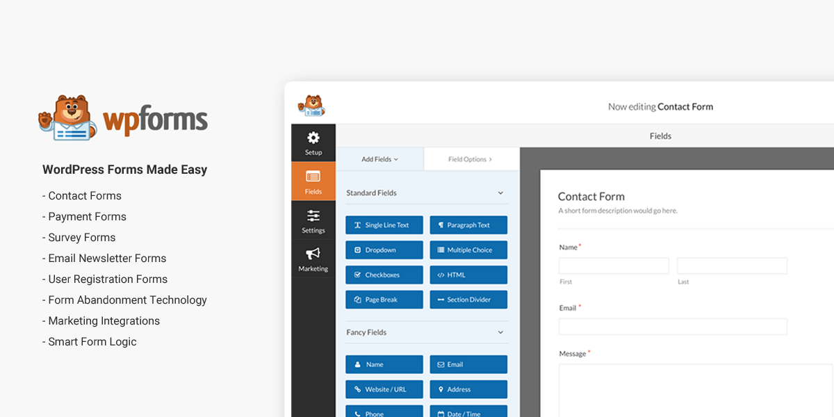 Create Smart WordPress Forms in Less Than 5 Minutes with WPForms