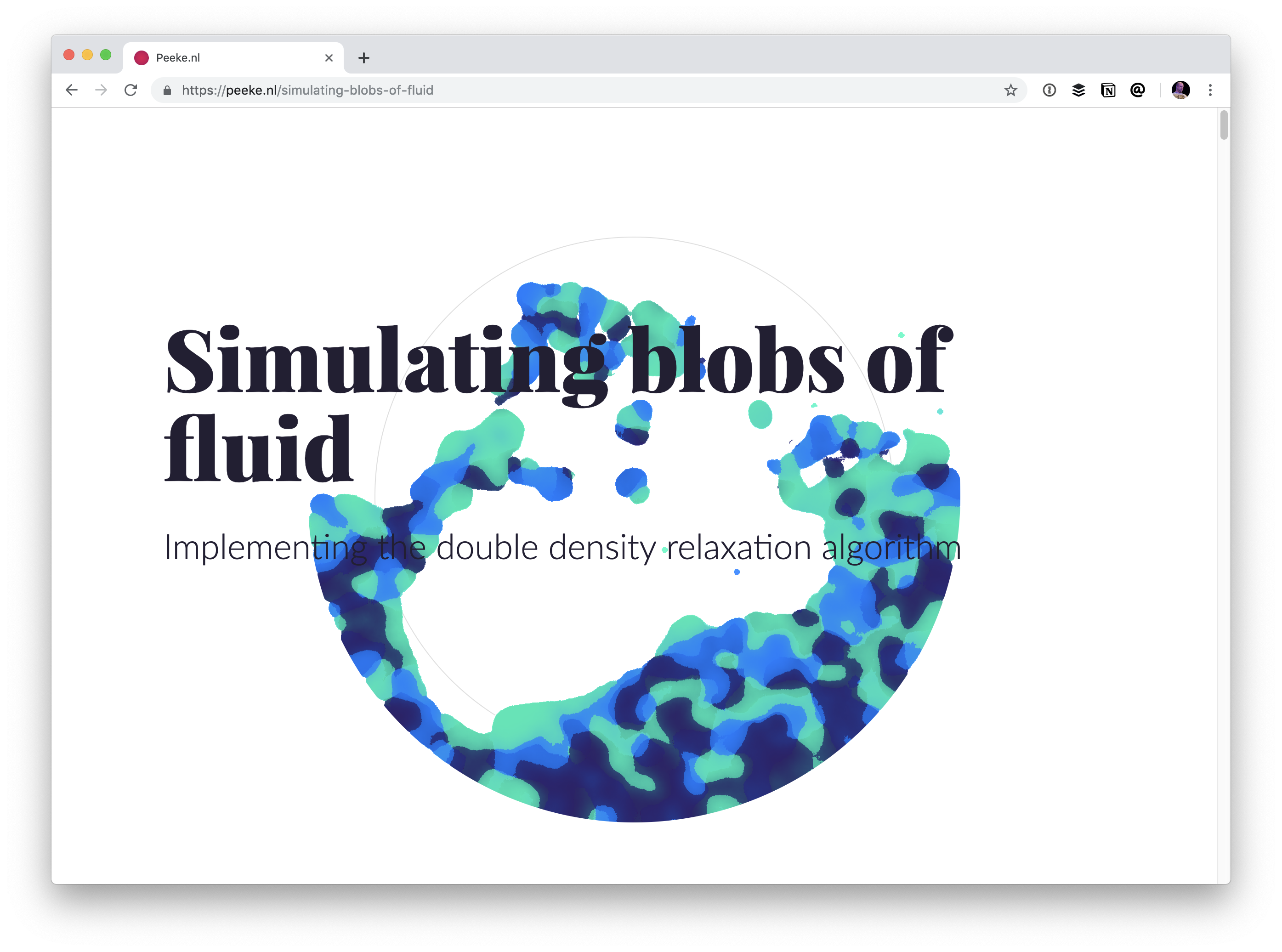 - blobs of fluid - Blobs! | CSS-Tricks