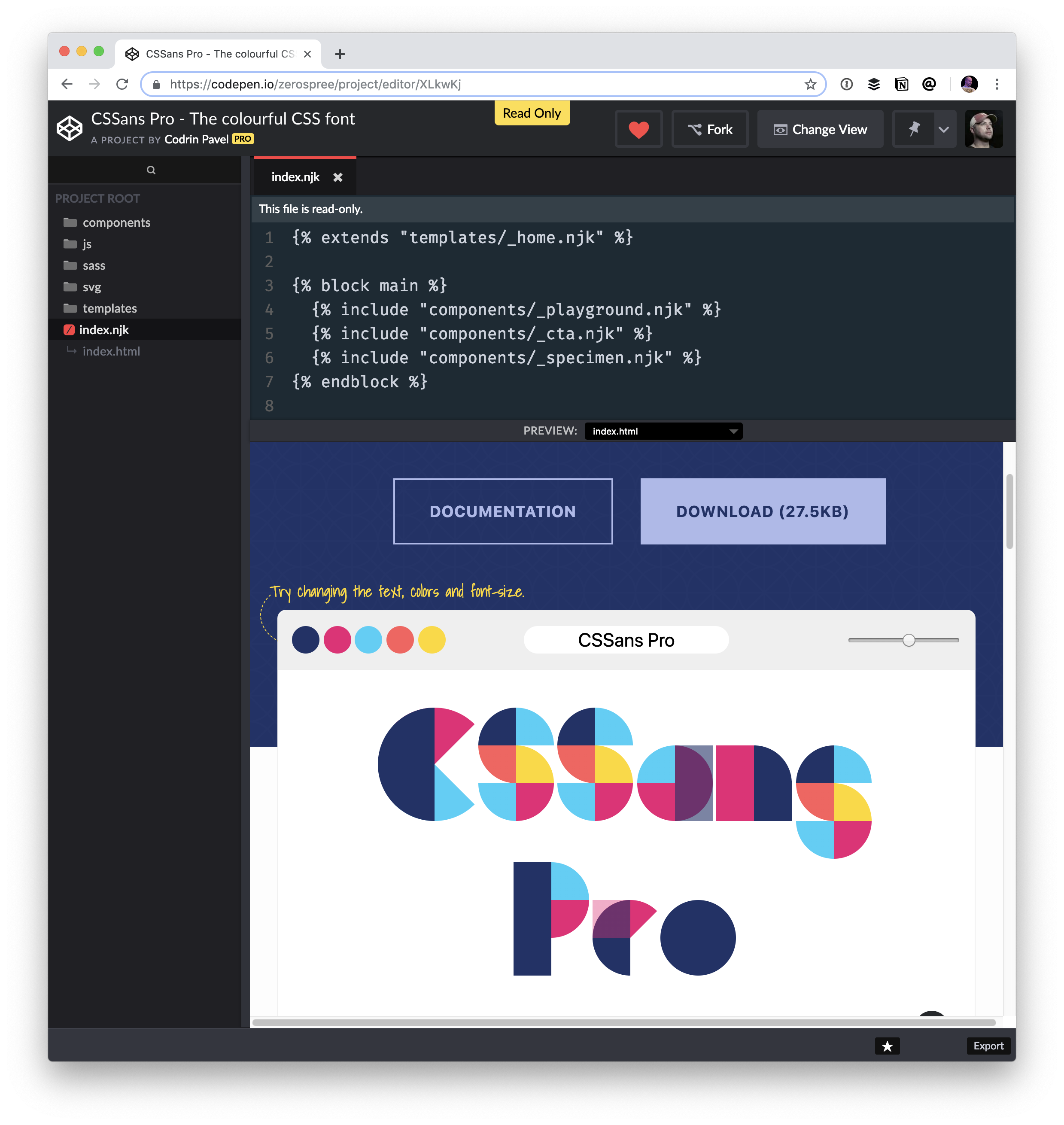 Colorful Typographic Experiments | CSS-Tricks