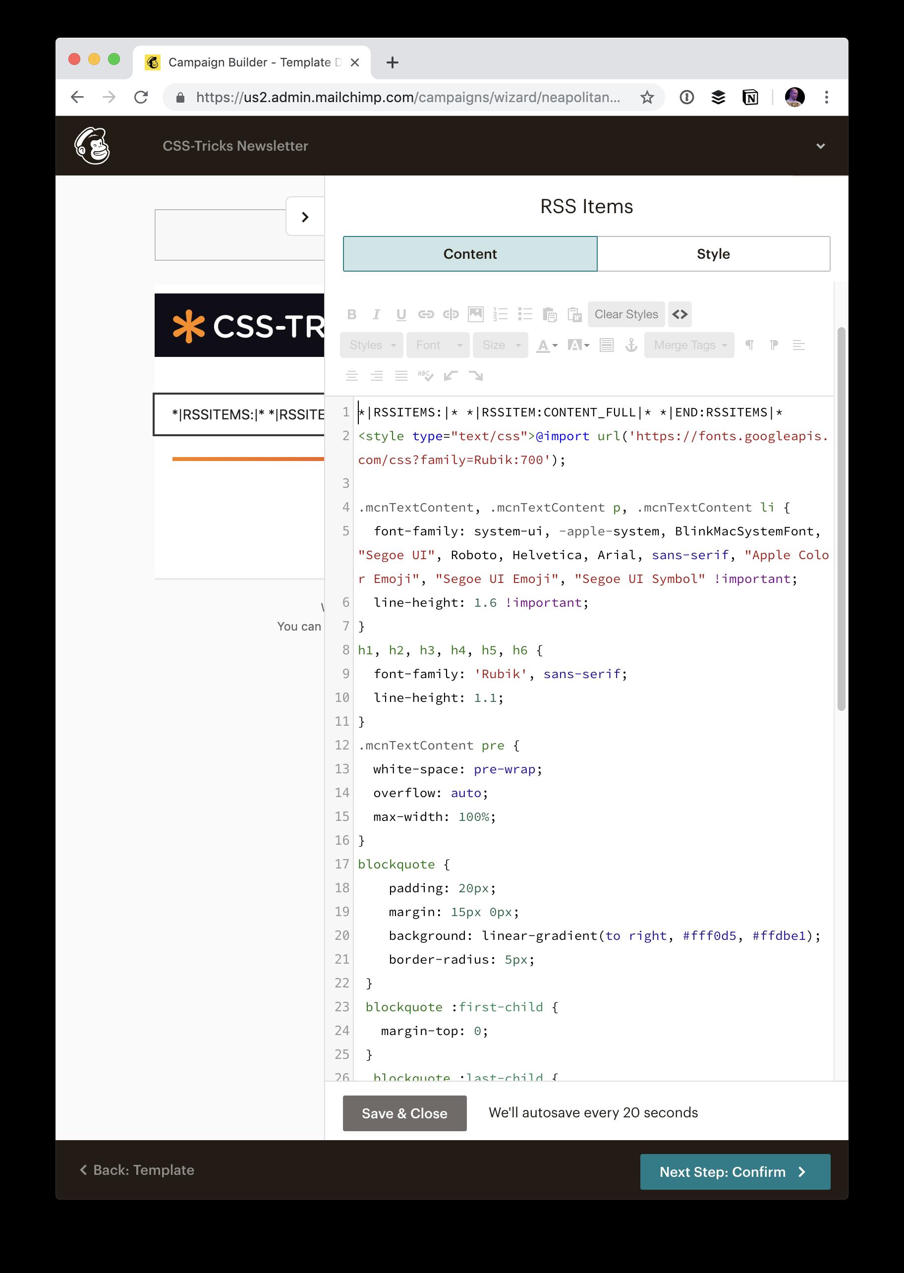 A Gutenburg-Powered Newsletter   CSS-Tricks
