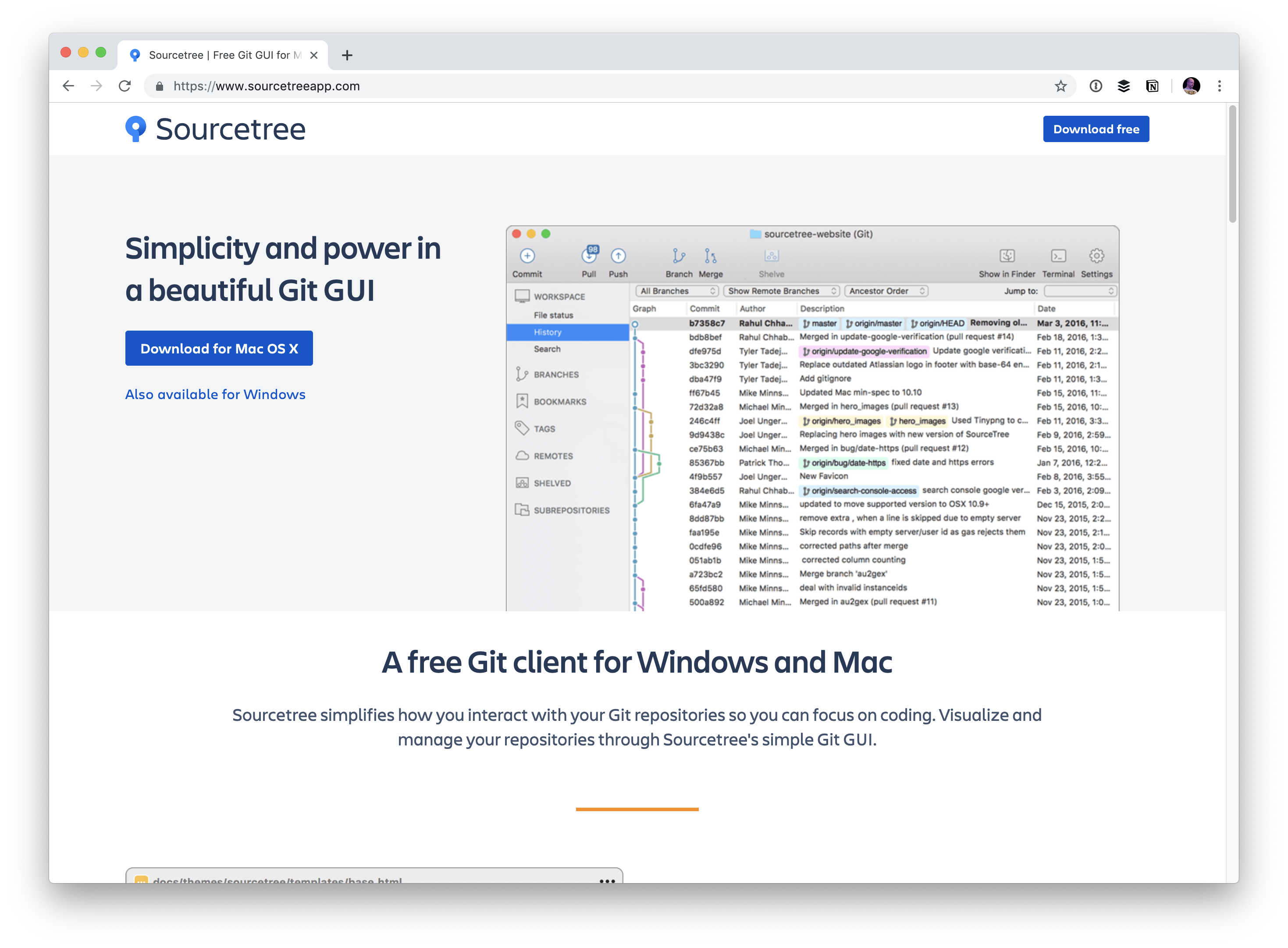 Graphical User Interfaces for Git | CSS-Tricks