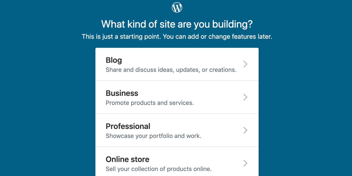 If you can build a site with WordPress.com, you should build your site on WordPress.com.