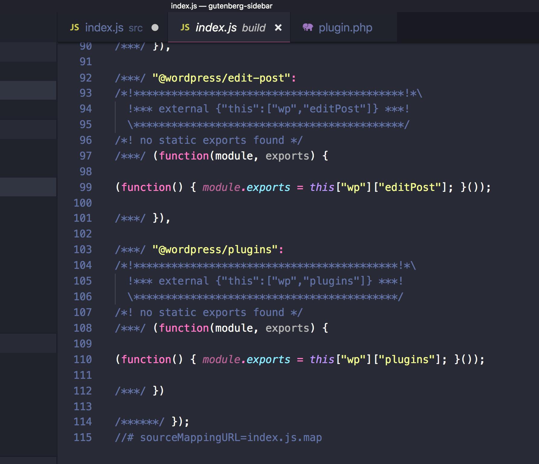 Managing WordPress Metadata in Gutenberg Using a Sidebar Plugin