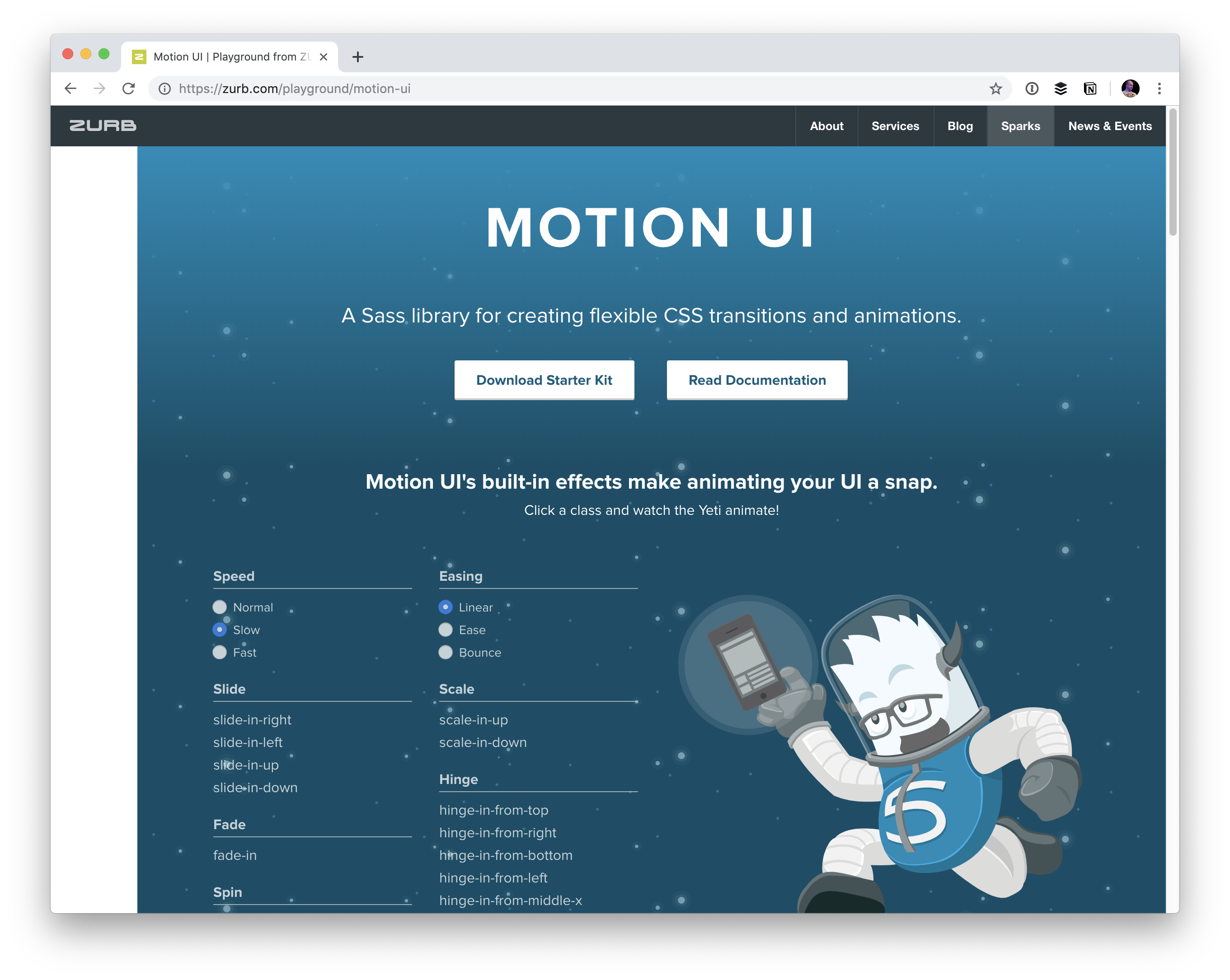 CSS Animation Libraries | CSS-Tricks