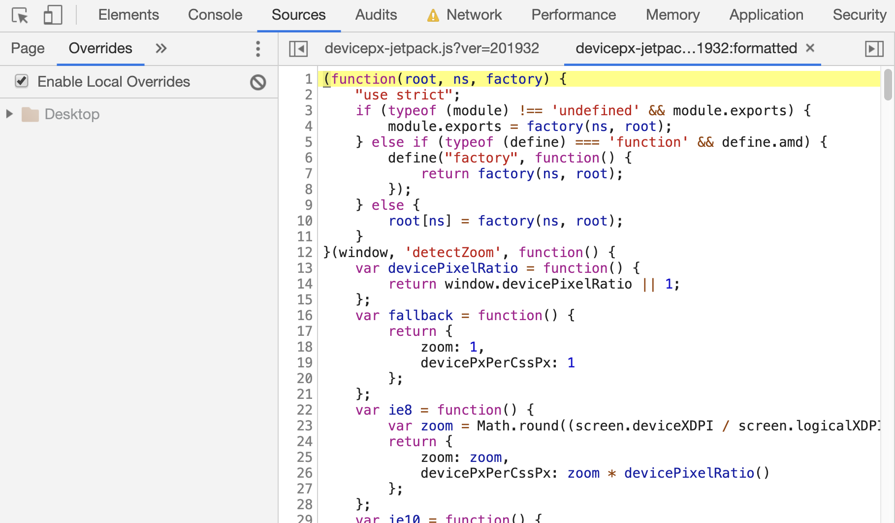 Thumbnail for #174: Using Local Overrides in DevTools