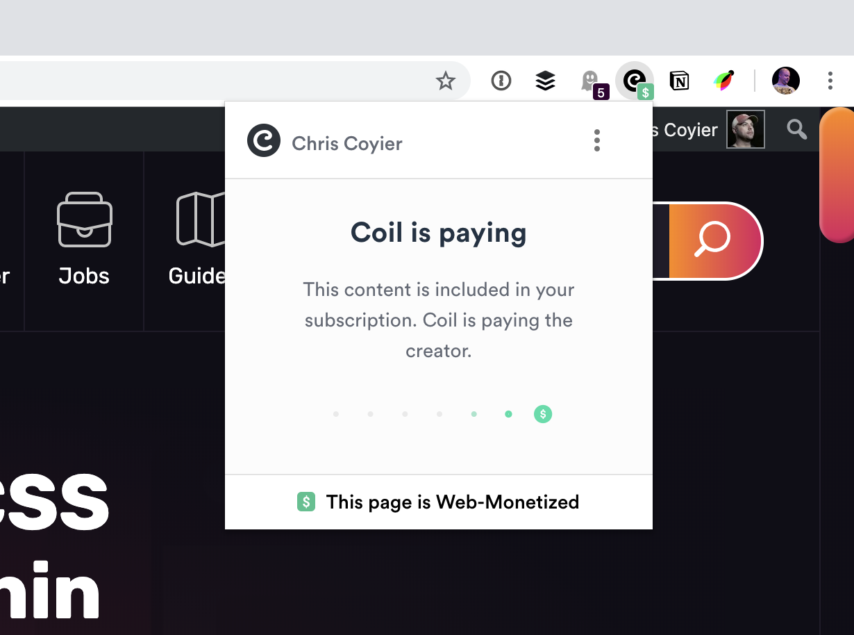 Site Monetization with Coil (and Removing Ads for Supporters) | CSS