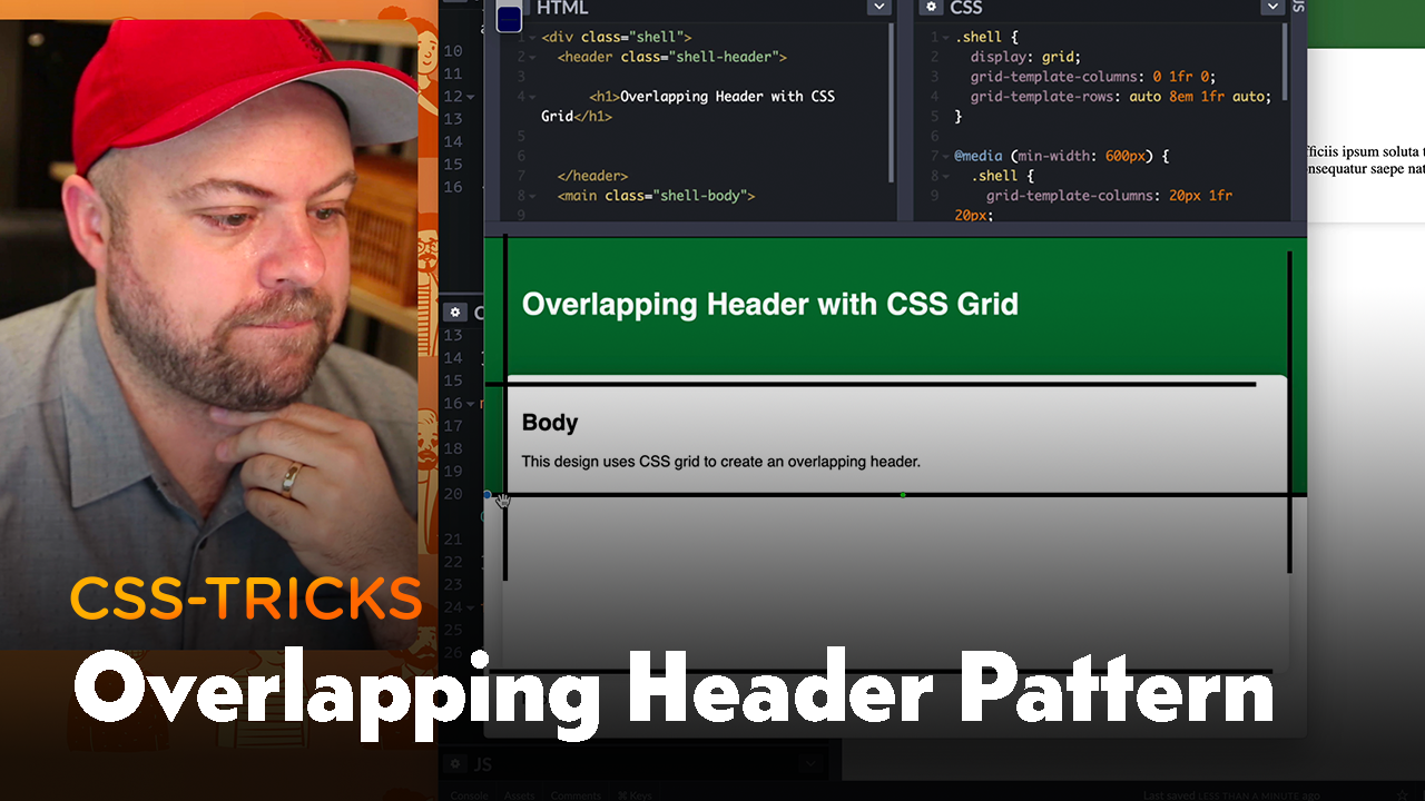 Thumbnail for #188: Exploring the Overlapping Header Pattern