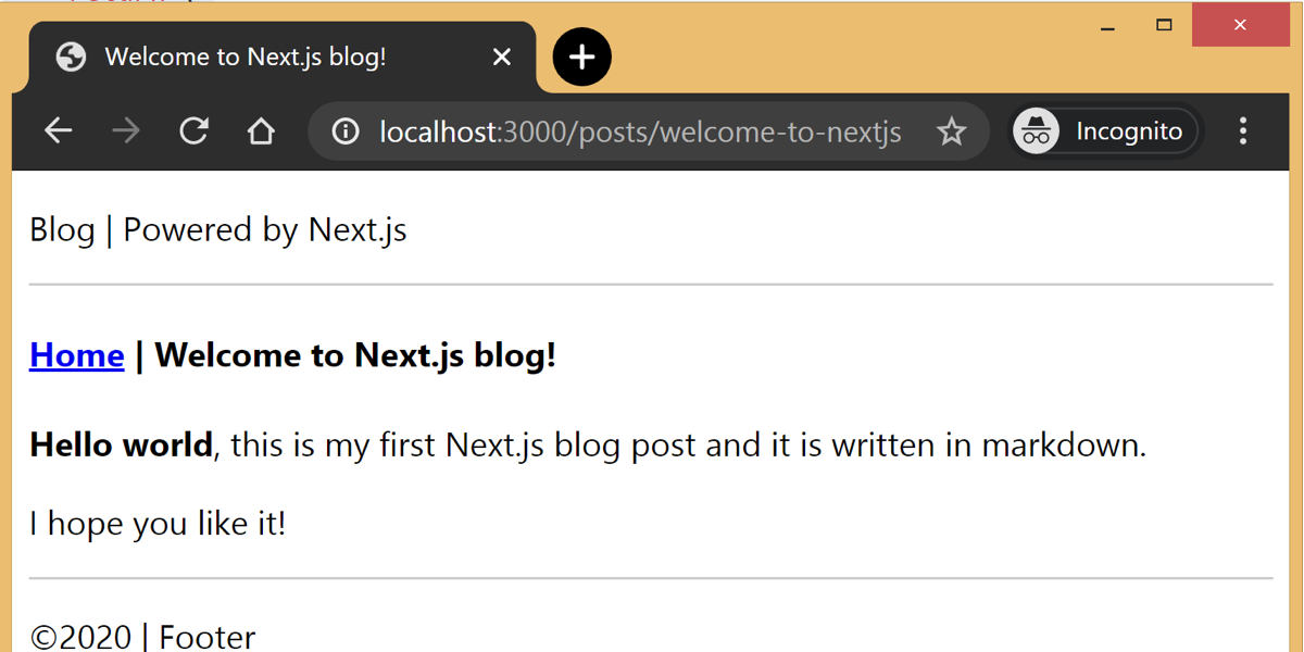 Building a Blog with Next.js | CSS-Tricks