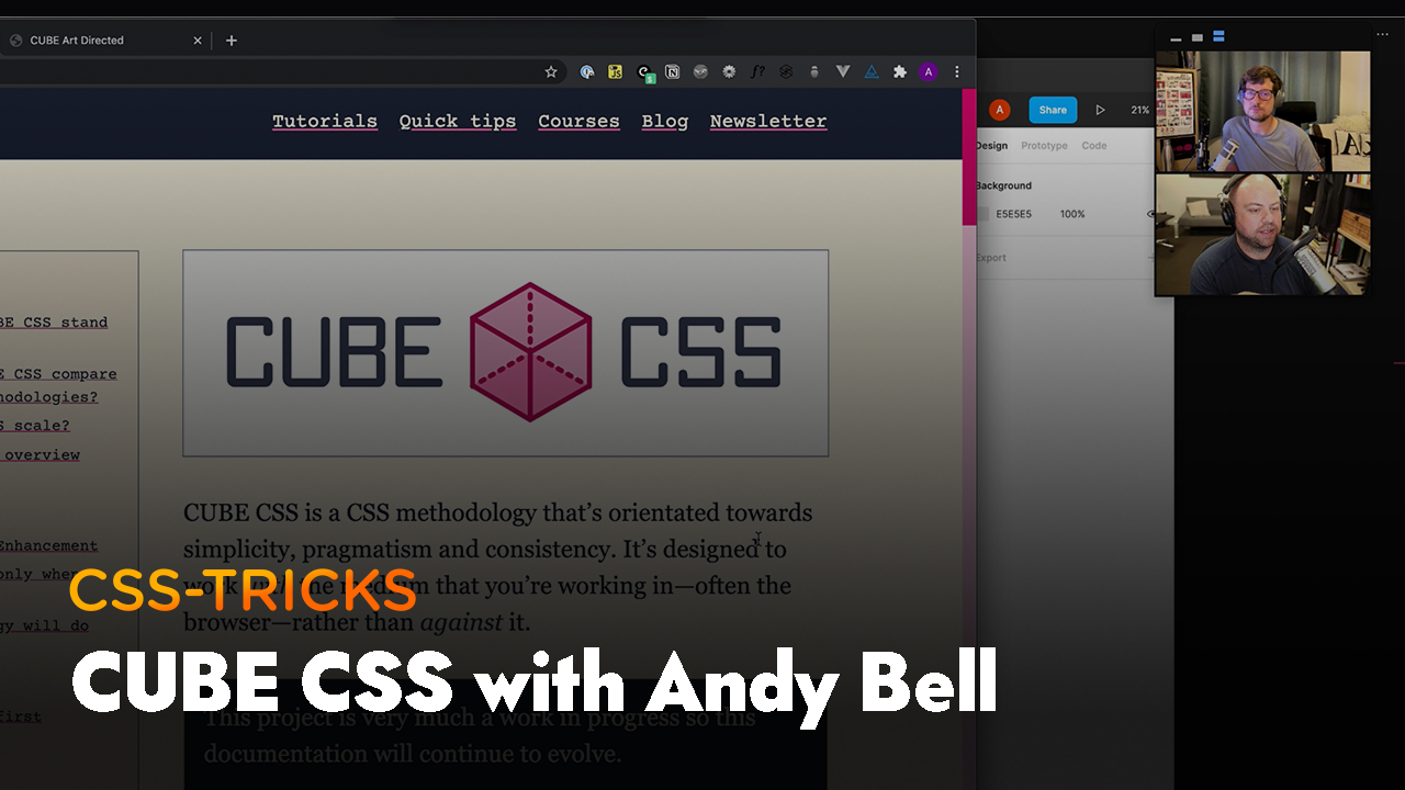 Thumbnail for #191: Learn by doing: CUBE CSS