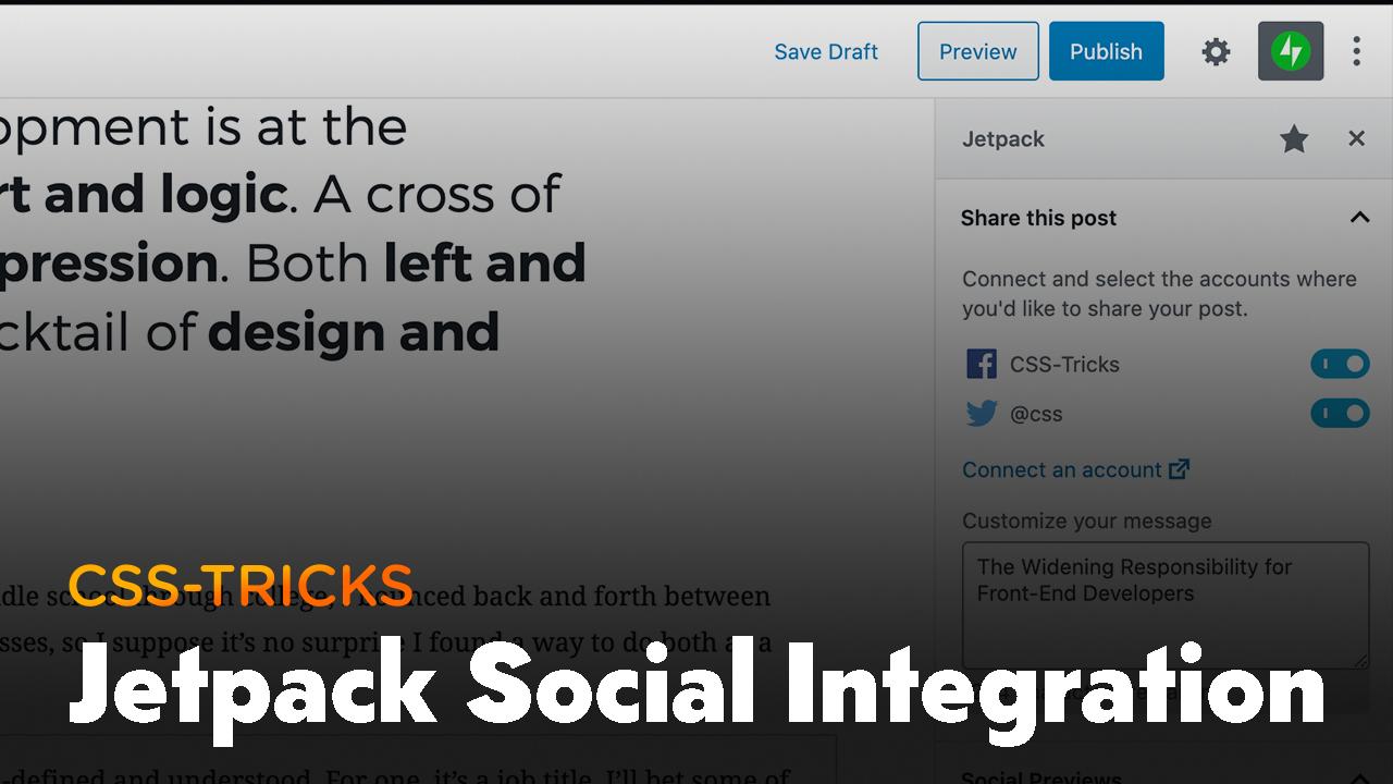 Thumbnail for #194: Jetpack's Social Integration