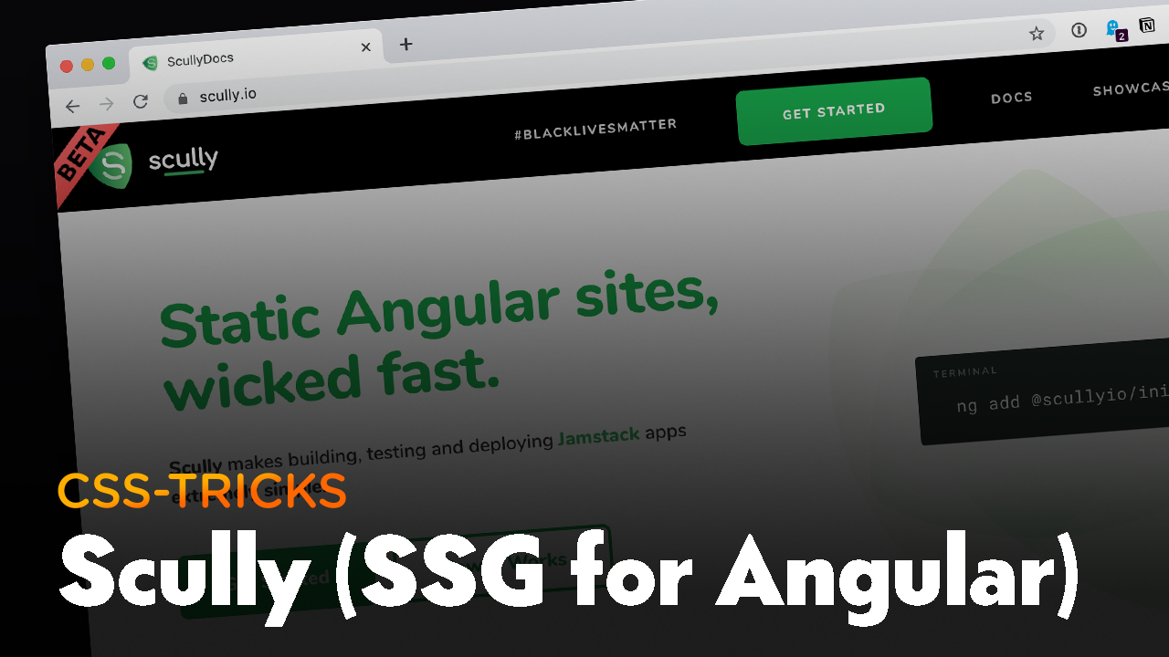 Thumbnail for #193: Scully: the SSG for Angular